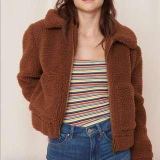 TEDDY COAT (BOMBER LENGTH)