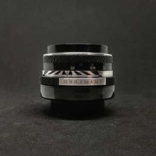 Aus Jena Pancolar 2/50 - Sony Fuji Olympus