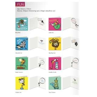 Greeting/ FUN Card  Artword Design by Luxe Design
