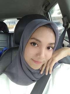 Hijab cornskin