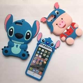 BRAND NEW 8plus 7plus 6splus 6plus stitch iphone cases