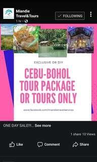 CEBU - BOHOL ONE DAY SALE!!!