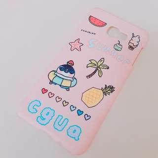 🚚 粉色企鵝手機殼