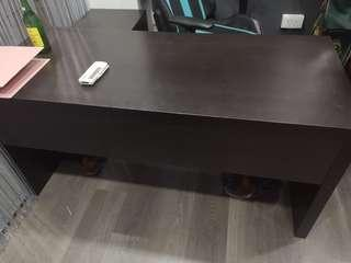 🚚 Office Table with Pedestal