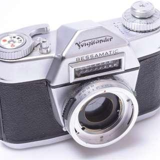 Voigtländer Bessamatic Collector's item