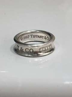 Tiffany 1837™ sterling silver ring size 8