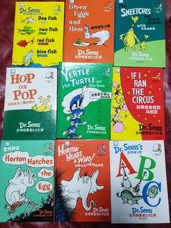 🚚 Dr.Seuss in English and Chinese text