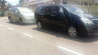 Car rental to JB etc