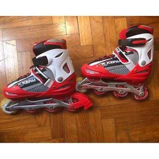 Rollerblades/ inline skates