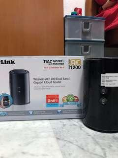 🚚 D-Link Wireless Router