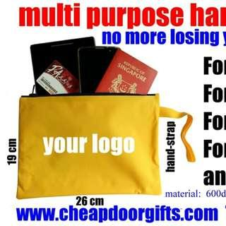 Travel pouch - no more losing personal items