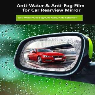 🚚 HD Nano Film Anti-glare Anti-scratch Rainproof Car Rear View Mirror Waterproof Film protective film