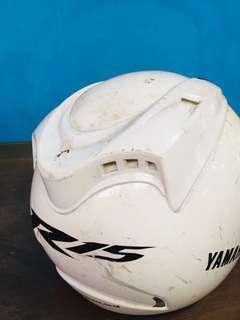 Helm Yamahan R15 apa ada nya
