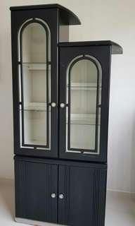 Shelves cabinets