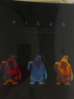 Pixar 20 years of animation - book
