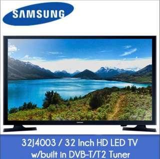 32 inch Samsung Digital HD LED TV (Free warranty)