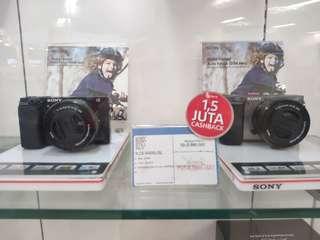 Sony A6000 New Original Resmi Sony Bisa Kredit Mudah