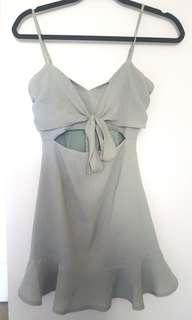 Peppermayo Sage green dress