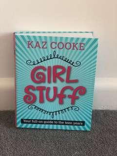 Kaz Cooke Girl Stuff Teenager Book