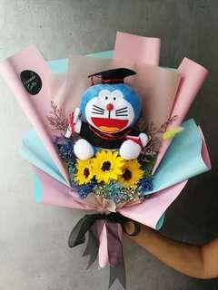 Convocation Soap flower bouquets