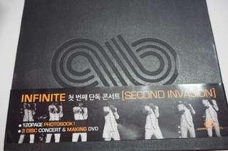 Infinite Second Invasion Concert DVD
