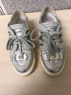 Chanel platform shoes creepers Sz36
