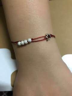 925純銀 紅線手鍊