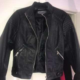 leather jacket sz 8