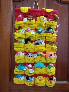 McDonalds sesame st collectibles
