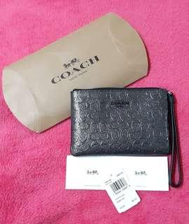 Orig COACH purse (charcoal)
