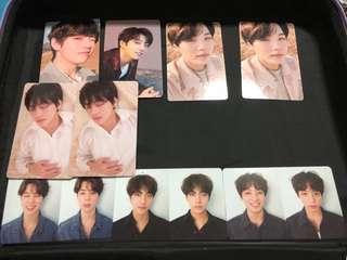 BTS love yourself 轉 tear photocard