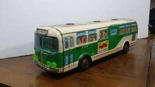 昭和 鐵皮 巴士 公車 🚌 70s 玩具 擺設