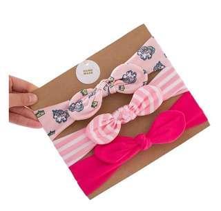 🚚 📮Free postage 3-Pack Cotton Little Unicorn Headband