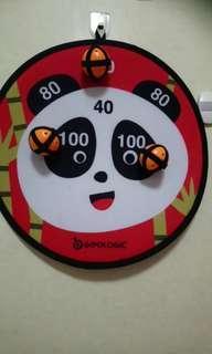 Preloved Target Toddler Game (3velcro ball) $4
