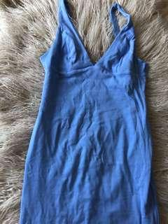 Kookai Blue Mid Length Dress