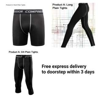 🚚 Pro Combat Tights Wear Compression shorts 3/4 long