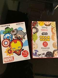 Fujifilm 即影即有相紙(Marvel,Star wars)