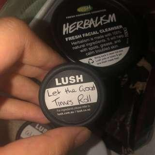 Lush MASK Let The Good Times Roll facial wash