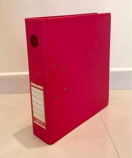 Ring File - Red Colour