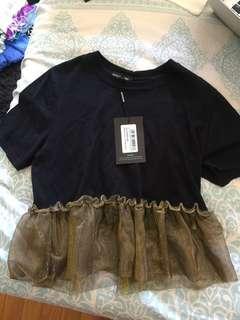 Frill shirt