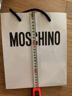 Moschino paper bag 紙袋