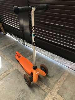 Mini Micro T-Bar Scooter, Orange
