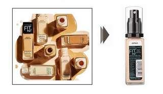 Maybelline Fit Me Foundation Pump