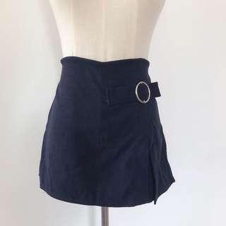 二手|黑色圓環褲裙