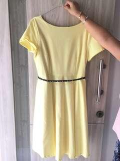 Yellow Premium Dress ( Onanoko )