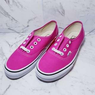 Brand New Vans with Tags and Box - Authentic Very Berry