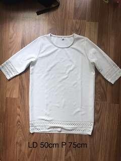 White tribal dress