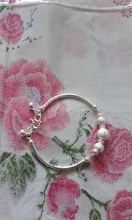 Silver Bangle for Adults