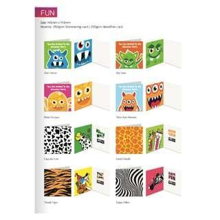 Cartoon Greeting Card-Artwork Design by Luxe Design