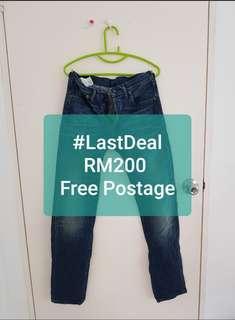 Original Limited R Levi's 501 Tapered Jeans W29 L34
